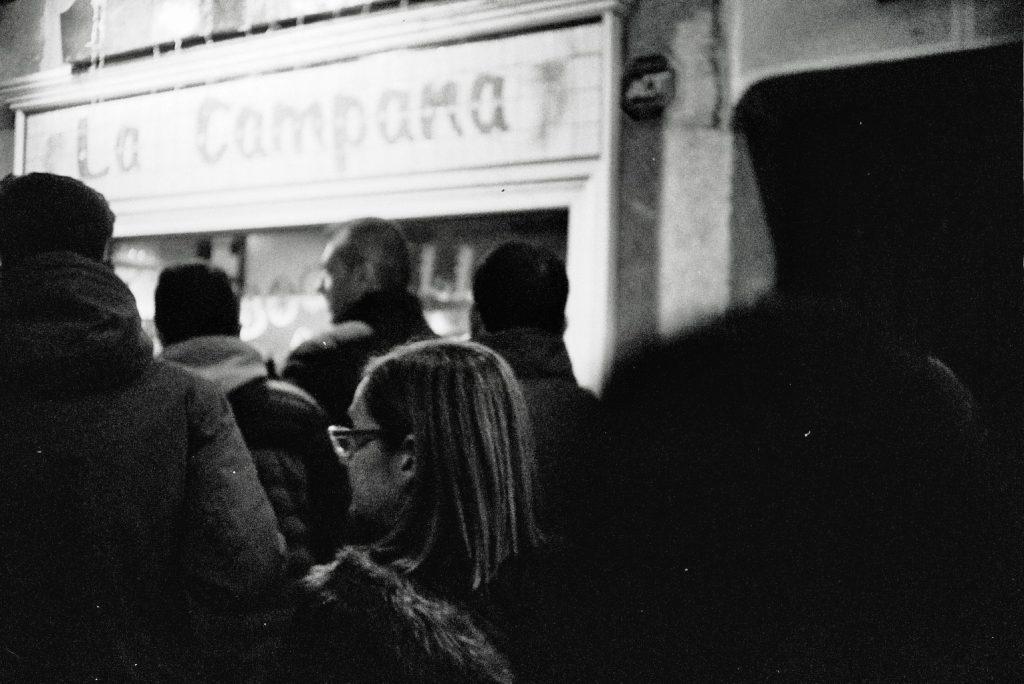 invierno madrid fotografía analógica