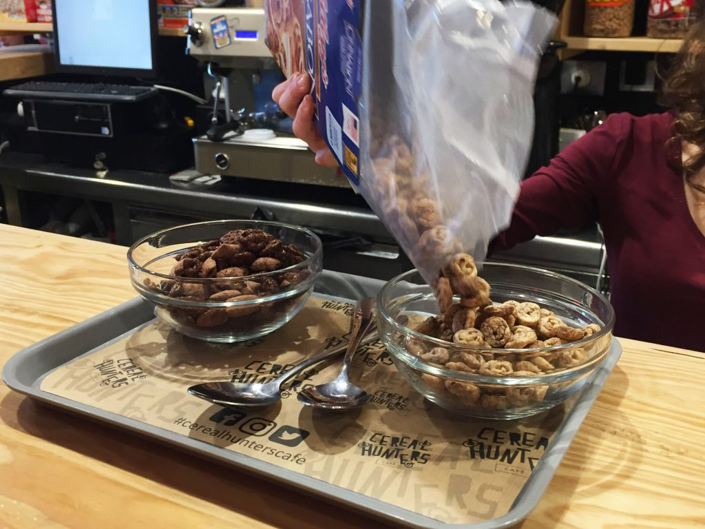 cereal hunters bar madrid cereales