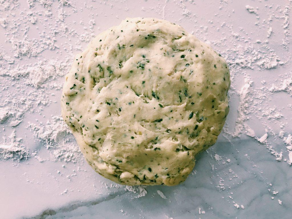 galletas de albahaca receta gastronomia berenjena foodporn