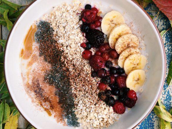 Vegan porridge de avena para comenzar el día 🔝🔝